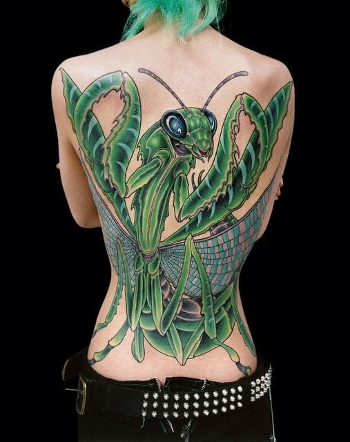 Amazing bright & bold Genko back piece! Would you get one?