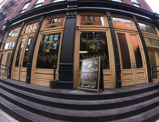 NYC's Premier Tattoo Shop, Wooster Street Social Club