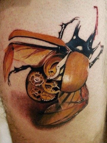 Mad props to the artist who did this clockwork beetle! We would love to credit them properly, pls send us their names if you know!