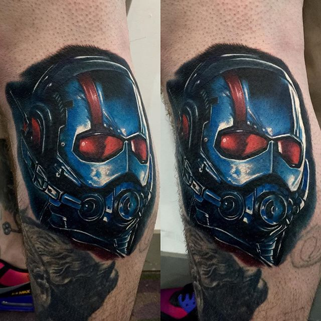 10 Mighty Ant Man Tattoos