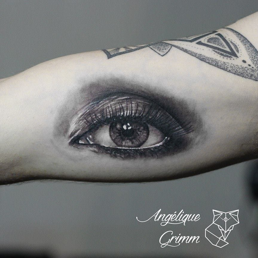 Refined Realistic Tattoos By Angélique Grimm