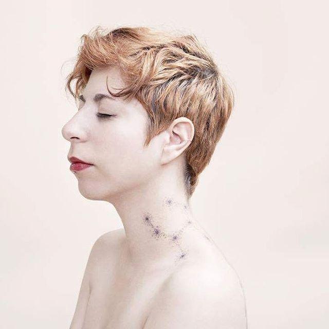 Sailor Raffy's Beautiful Constellation-Inspired Hand Poke Tattoos
