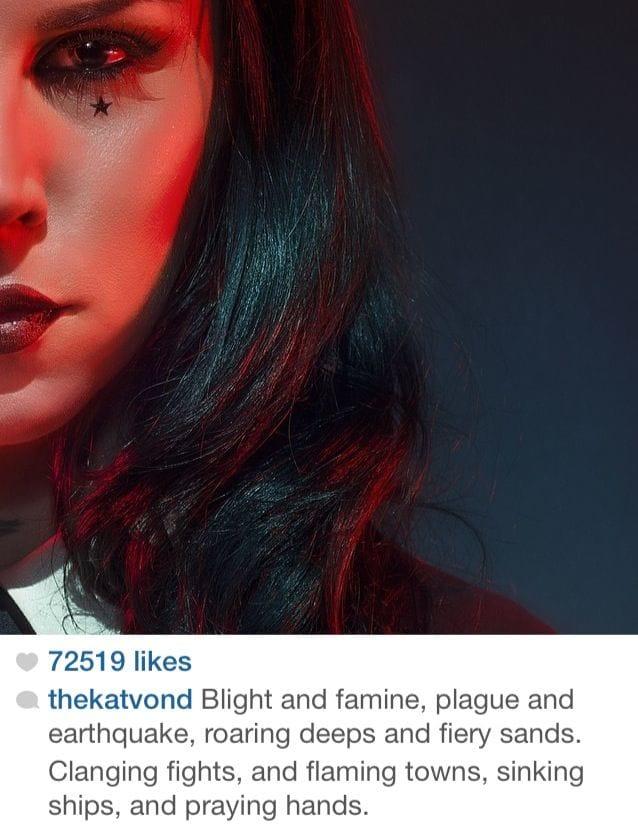 Instagram: thekatvond