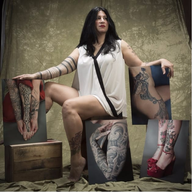 Women's Tattoos And Stories Take Center Stage At A Forest Gate Exhibit