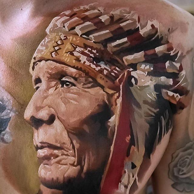 Amazing Painting Style Tattoos by Maksim Yalovik