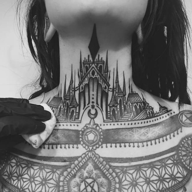 Thieves Of Tower: New Neck Castle Tattoo