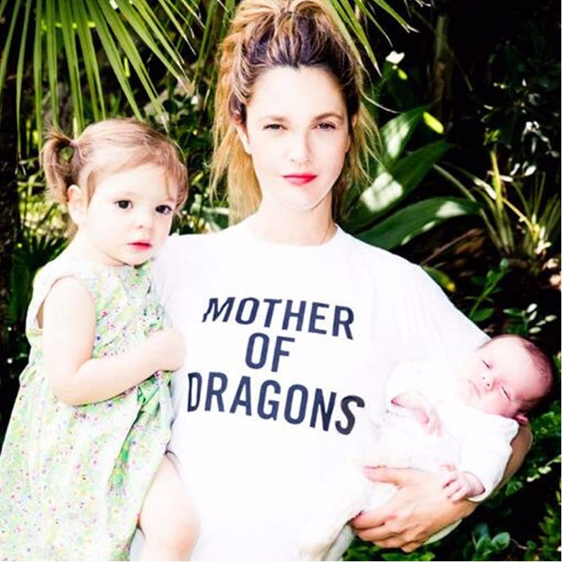 Drew Barrymore Got The Sweetest Tattoo For Her Kids
