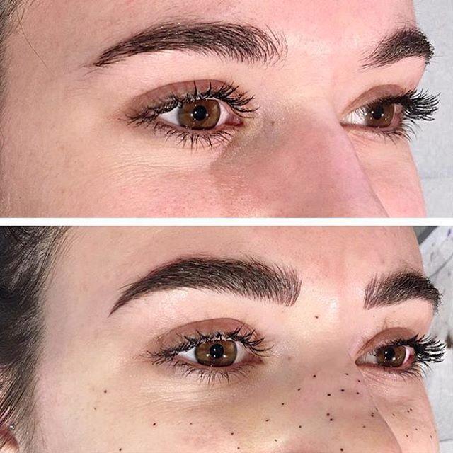 21 Pairs Of Gorgeous Tattooed Eyebrows On Fleek