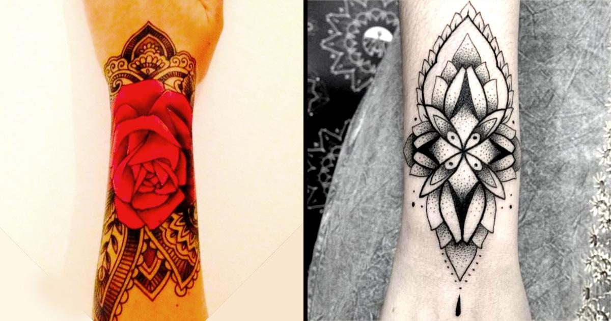 Wrist Cuff Henna Tattoos Mehndi: Tattoo Style To Love: Paisley And Mehndi Wrist Cuff