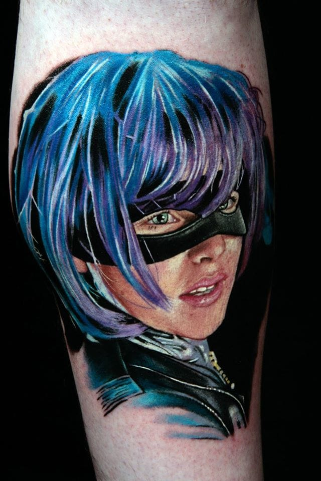 10 Ass Kicking Hit-Girl Tattoos!