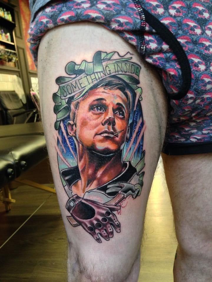 Mr Ryan Gosling in Drive by Neil Dransfield