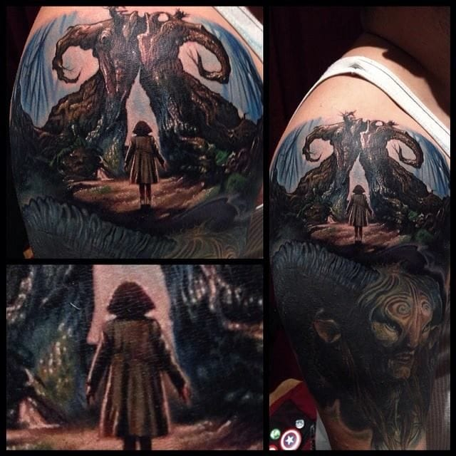 The Pan's labyrinth according to Paul Acker