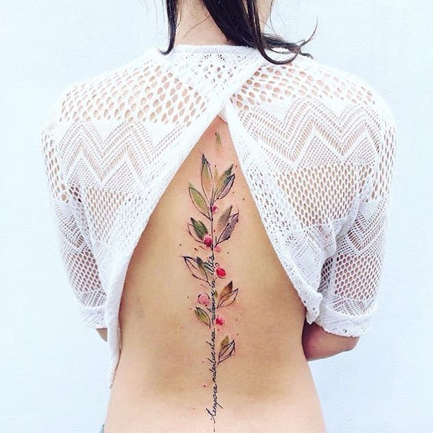 Peaceful Nature Tattoos By Pis Saro