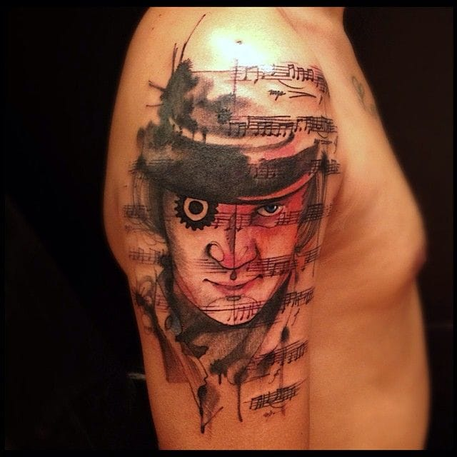 Graphic vision of Clockwork Orange by Victor Montaghini.