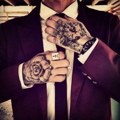 Tattooed Professional. Suit them up for extra awesomeness! Looks really sharp!