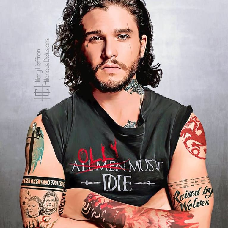 Game of Thrones Characters Reimagined With Painfully Accurate Tattoos