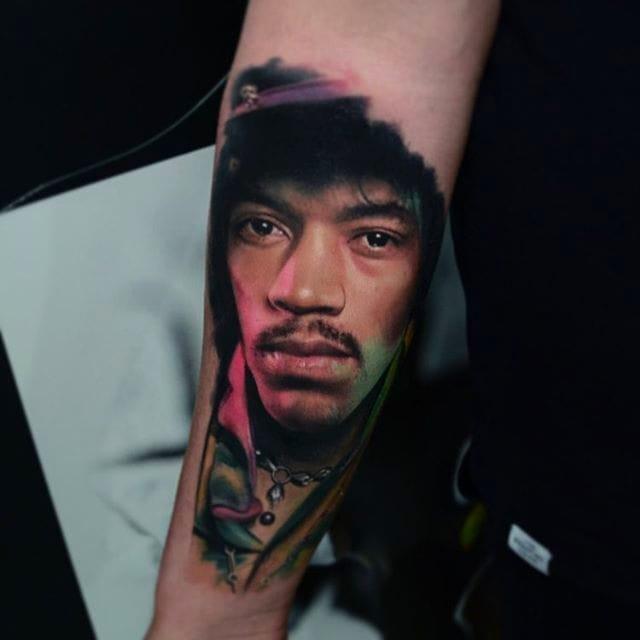 Intense Portrait Tattoos By Karol Rybakowski