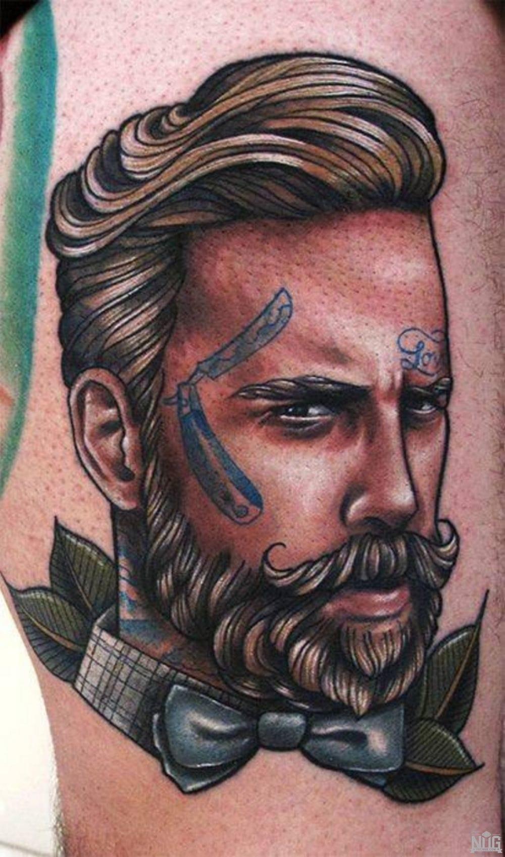 tattooed bearded lad by Roza from Greece
