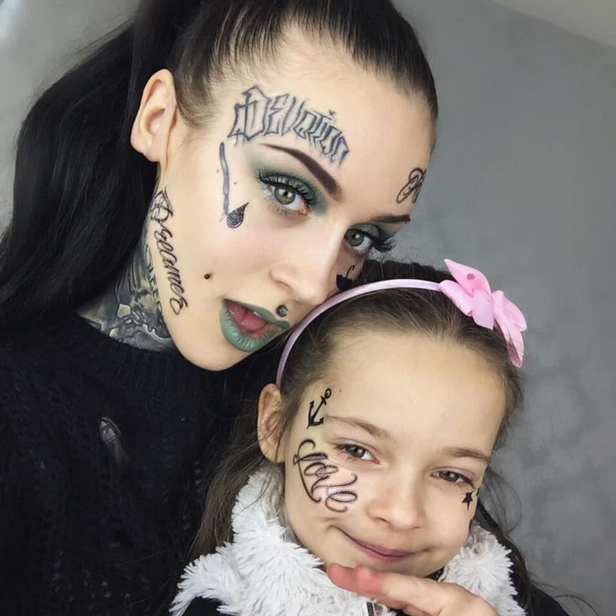 DAMN, These Kids Know How To Rock Tattoos!