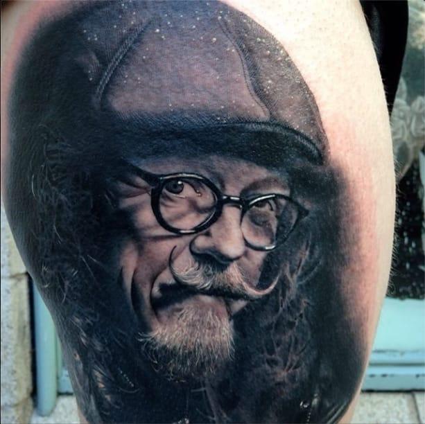 realism tattoo by Emma Kierzek