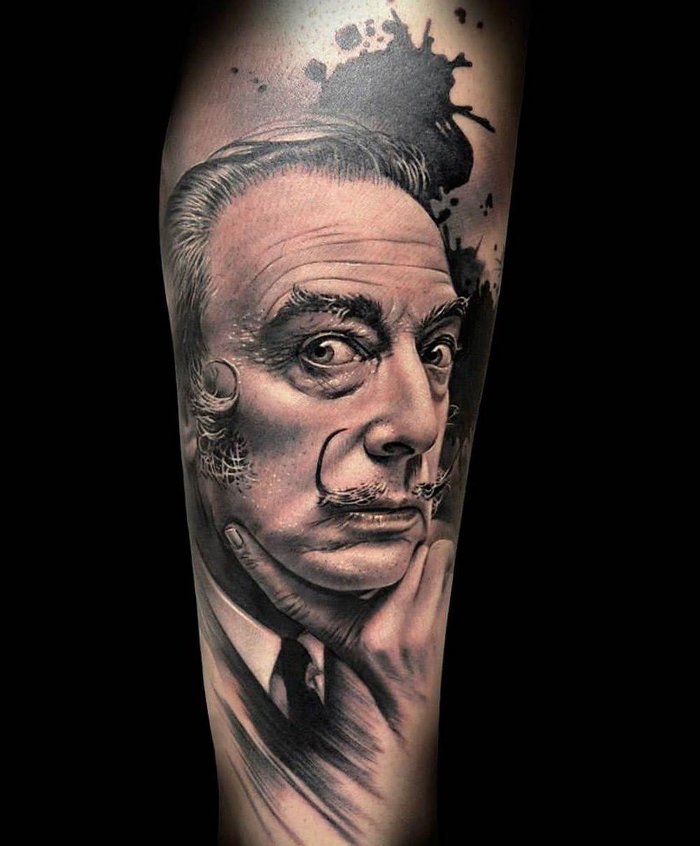 Awesome tattoo by Dani Martos
