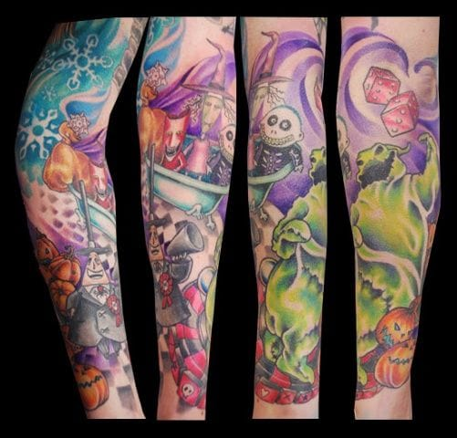 Jessi Capare Tattoos.