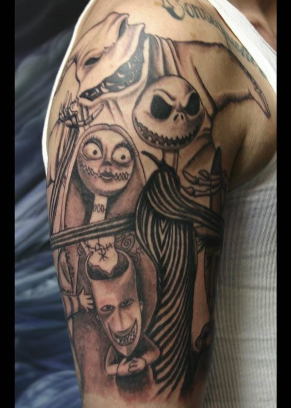 20 nightmare before christmas tattoos tattoodo for Tattoo nightmares shop website
