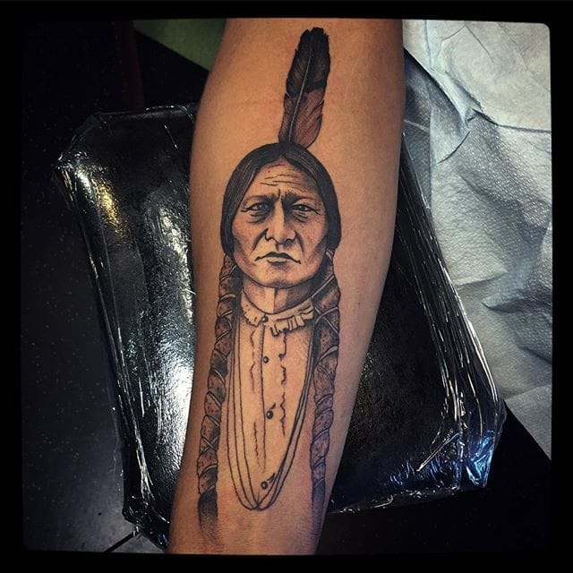 10 Proud Sitting Bull Tattoos