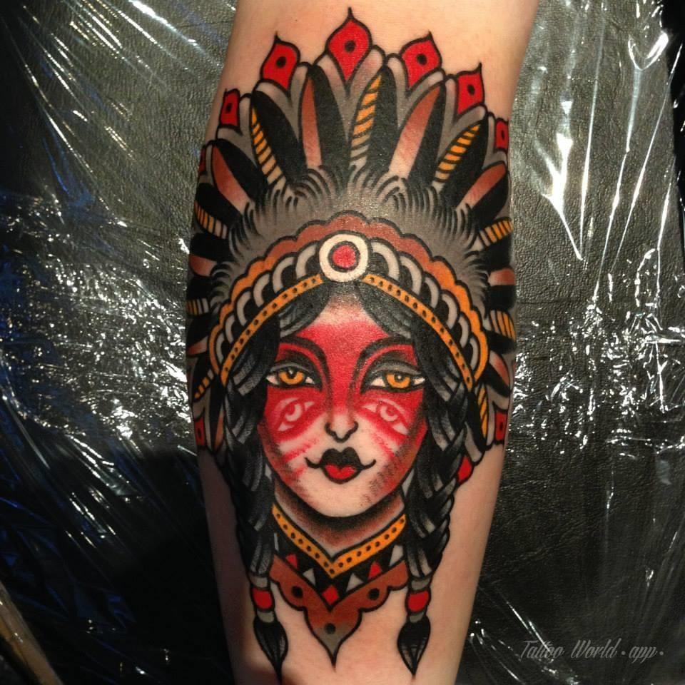 Tattoo by Luke Jinks