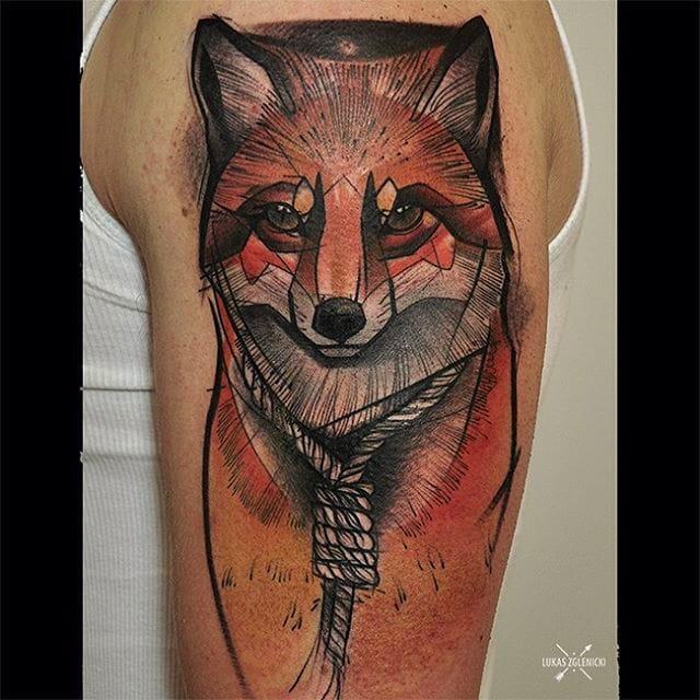 Illustrative Animal Tattoos By Lukas Zglenicki