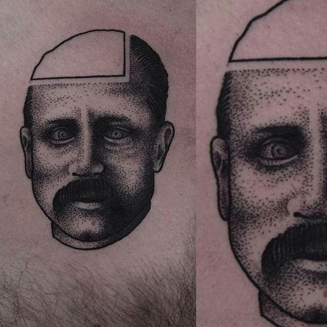 Unique Blackwork Tattoos by Martin Jahn