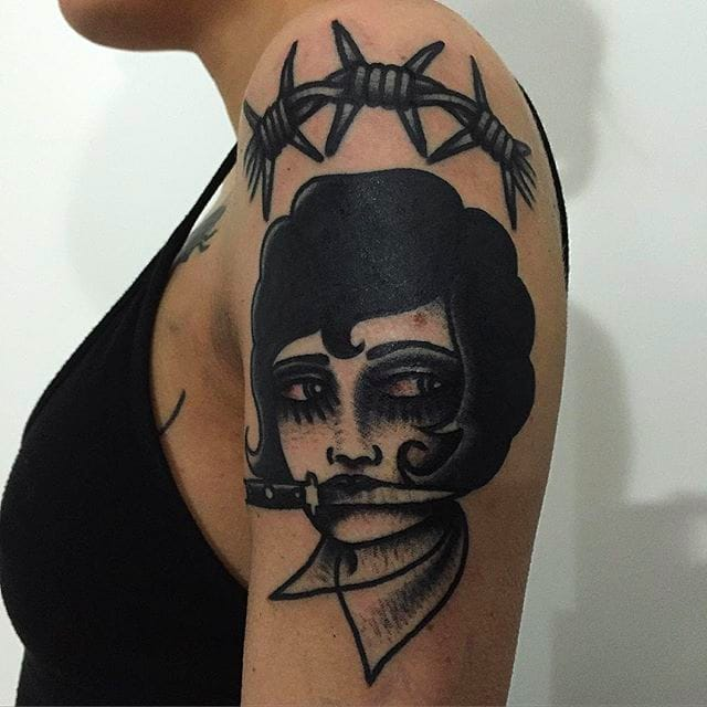 Bold Badass Black Tattoos by Egbz