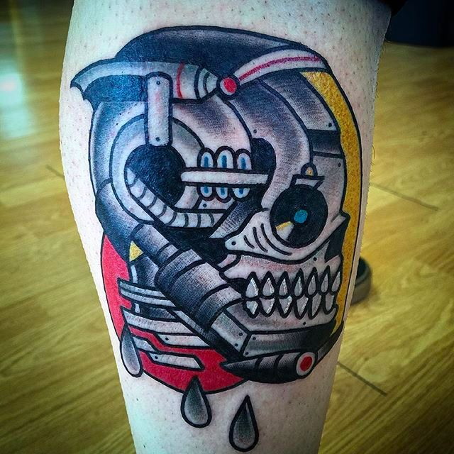 Goofy and Solid Tattoos by Destroytroy