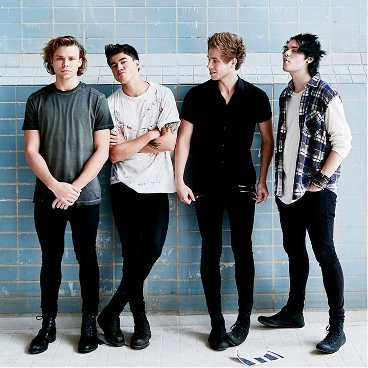 Young And Reckless: 5 Seconds Of Summer Lads And Their Tattoos