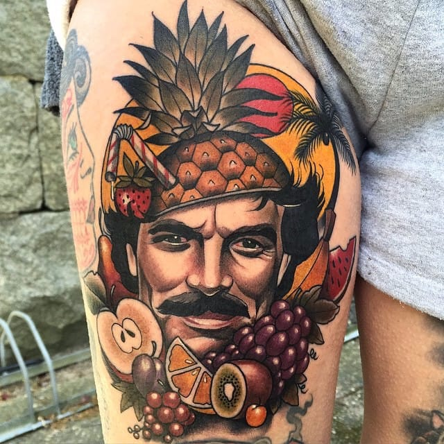 9 Wacky Tom Selleck Tattoos