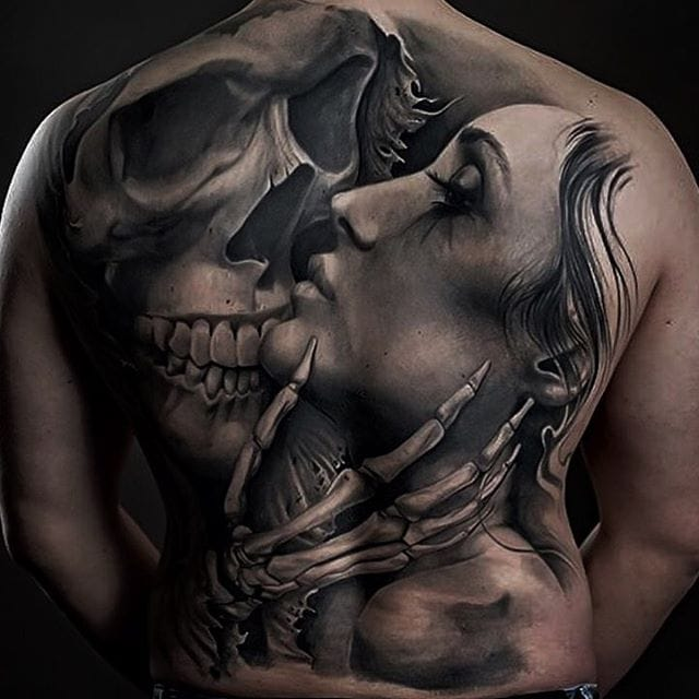 Amazing Black And Grey Tattoos By Nico Negron