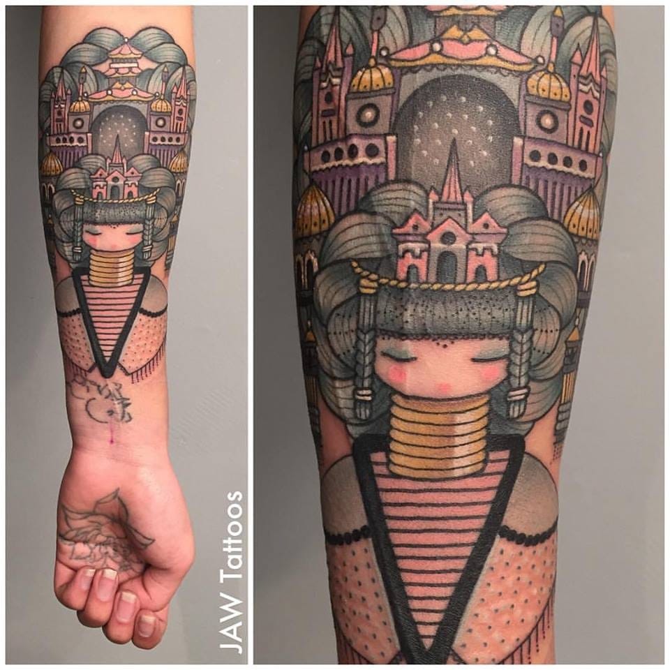 Get Tattoos Inspired By The Art Of Koralie