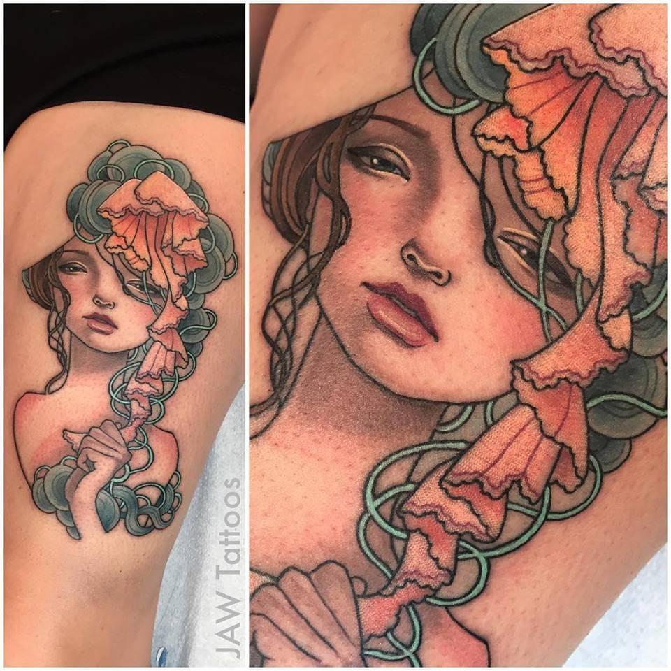 Art Inspired Tattoos By Jessica Ann White