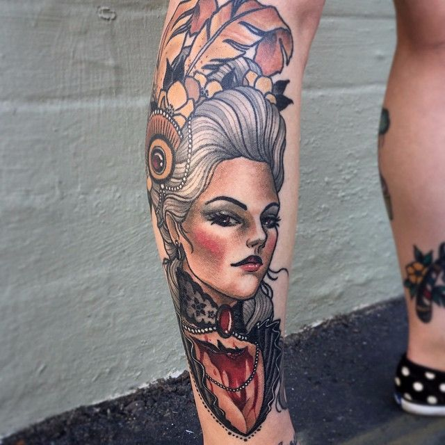 The Ravishing Neo Traditional Style Tattoos Of Chris Primm