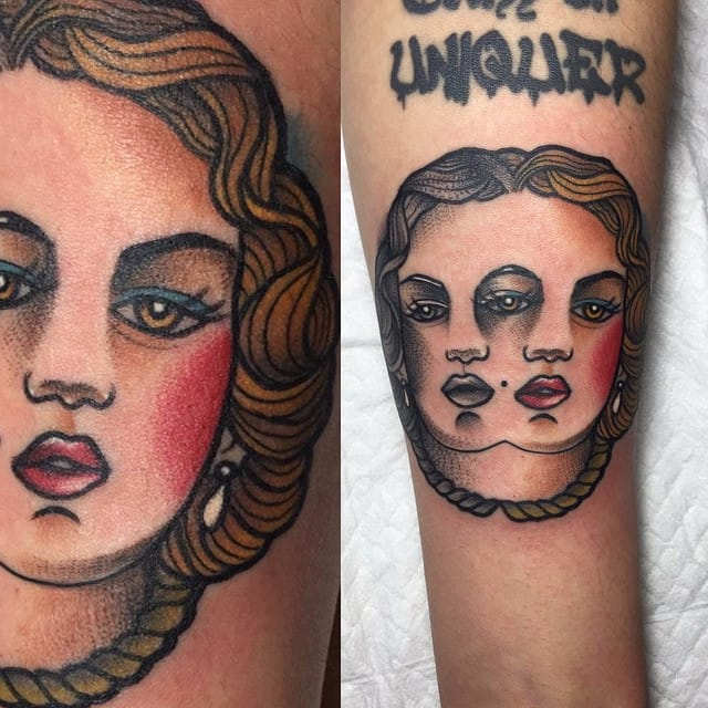 Mico, The Sweet-Faced Tattoo Artist With A Killer Tattoo Style