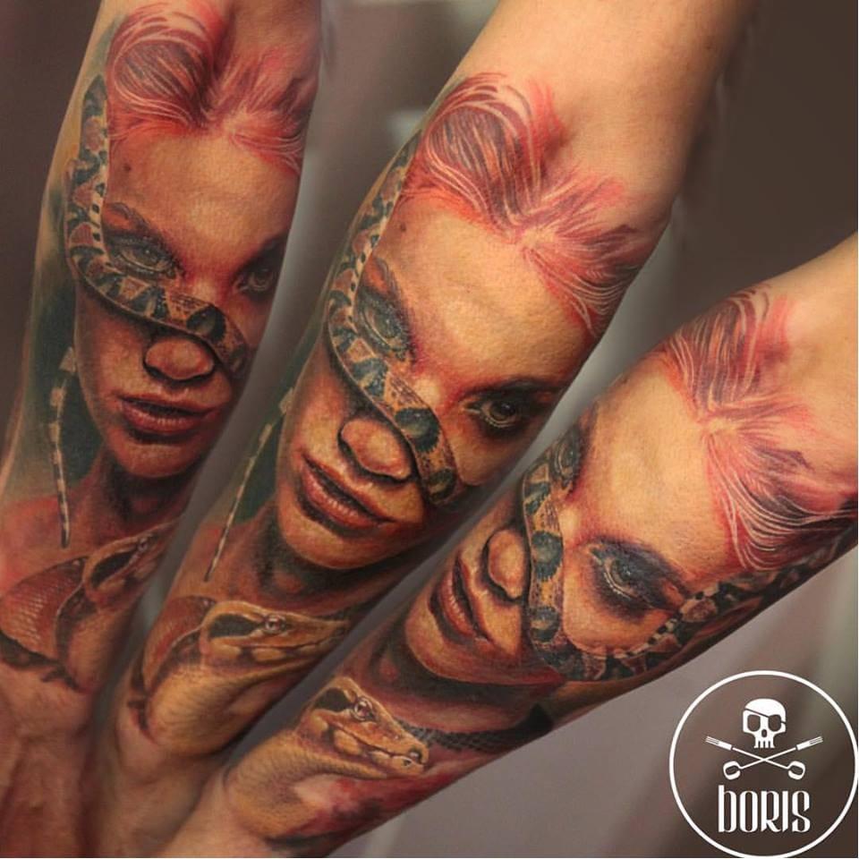Mesmerizing Realistic Tattoos By Boris