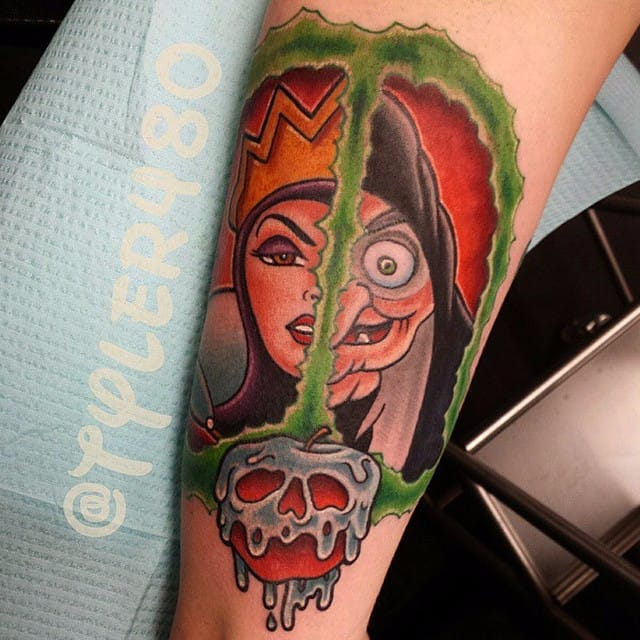 15 Wicked Disney Villain Tattoos!