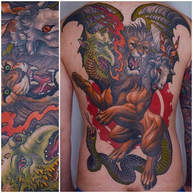 Super Cool Neo Traditional Tattoos By Peter Lagergren
