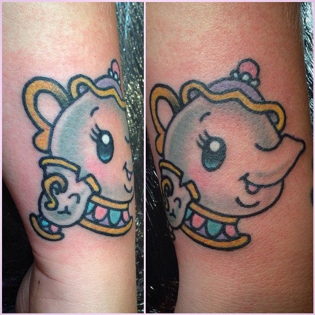 15 Cute Colorful Tattoos From 5 Girly Tattoo Artists