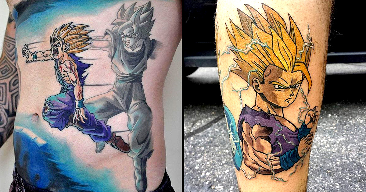 Image result for dbz tattoos