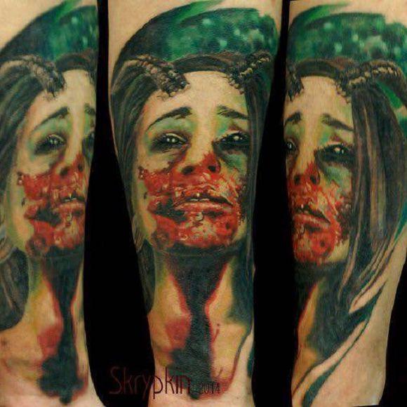 14 Tatuagens Inspiradoras De Yaroslav Skrypkin