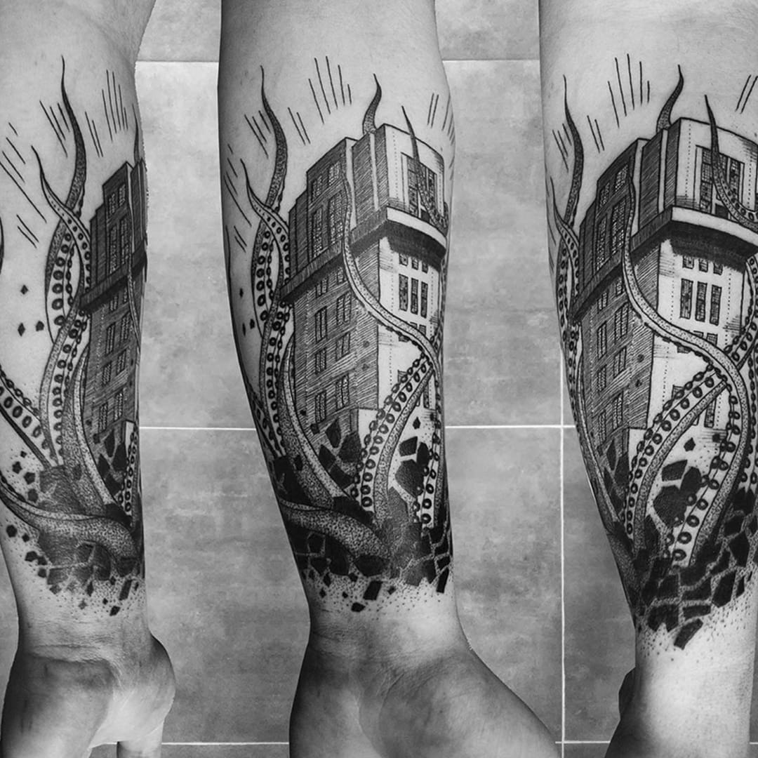 Turn Your Skin Into A Landmark With Architecture Tattoos