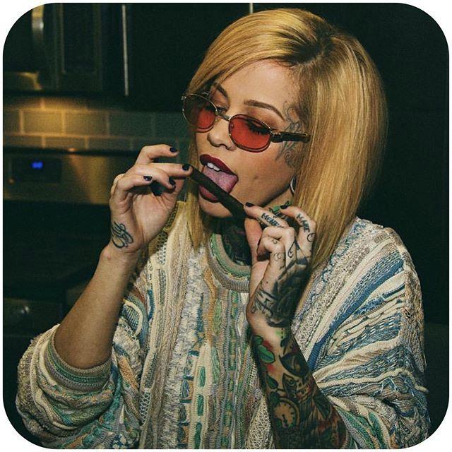 via @madzilla #tattoodobabes #tattoomodel #girlswithttattoos #madzilla