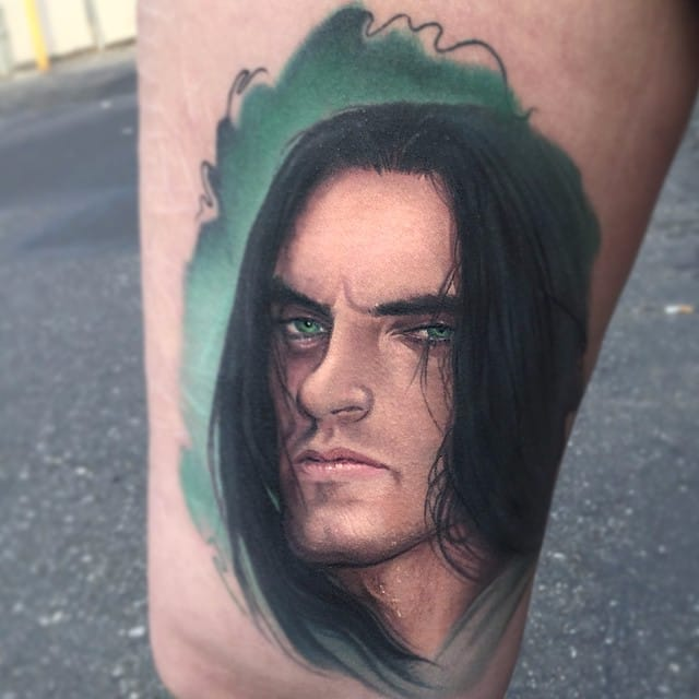 Peter Steele portrait by Paul Acker via @paulackertattoo #celebrity #realistic #portrait #PeterSteele