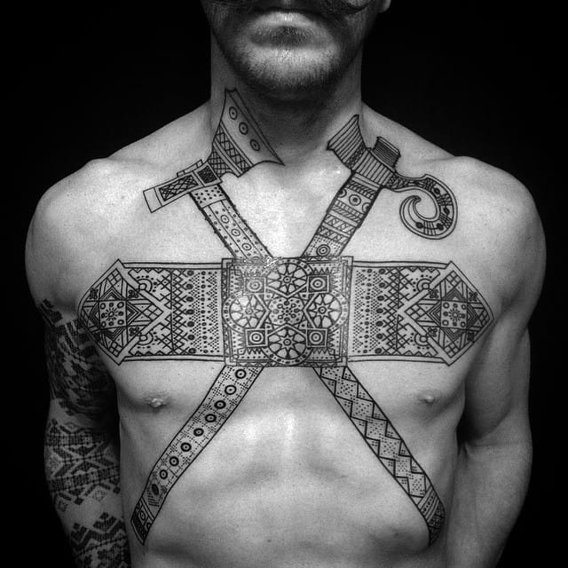 The Unique and Intricate Tattoos of Anich Andrew